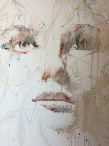 Just out of reach, detail by Carne Griffiths
