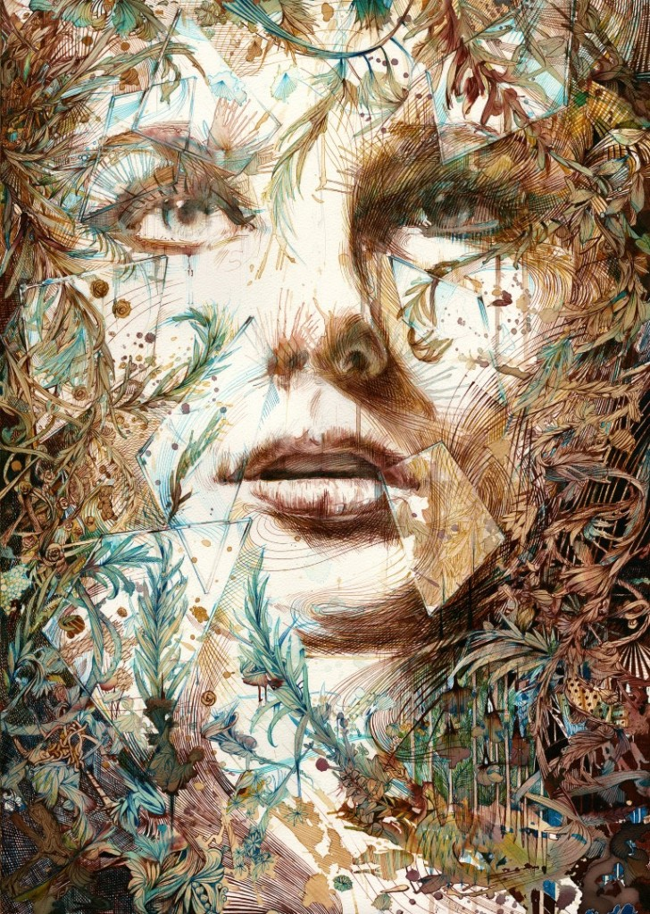 Just out of reach, by Carne Griffiths