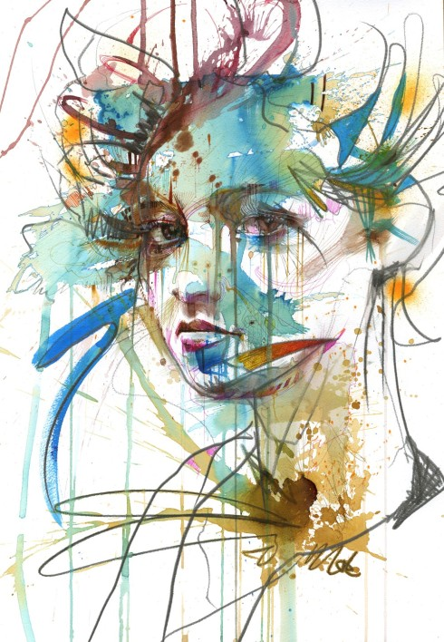 Trouble by Carne Griffiths